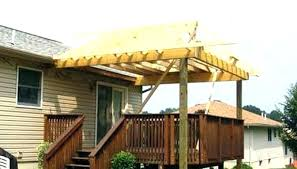 how to build a roof deck building a roof over a deck roof over deck photo