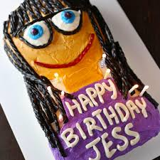 Jessica Days Birthday Cake From New Girl Mom Loves Baking