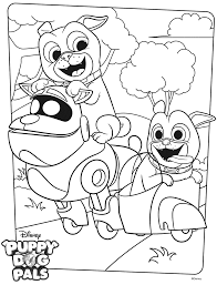 Disney Puppy Dog Pals Coloring Pages Get Coloring Pages