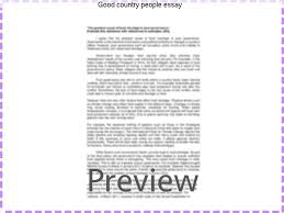 good country people essay essay service good country people essay this college essay and over 1 500 000 others like it now