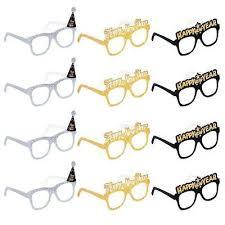 <b>12PCS 2020</b> Glitter Card Glasses Happy <b>New Year's</b> Eve Glasses ...