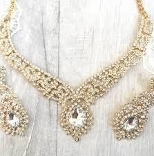 chandelier jewellery set