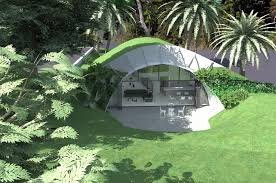 Subterranean House Baldwin Obryan Architects Earth Sheltered House Earth