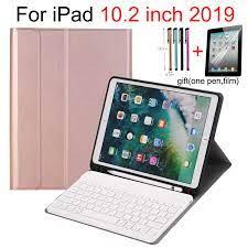 Klavye durumda iPad 10.2 7th Gen 2019 10.2