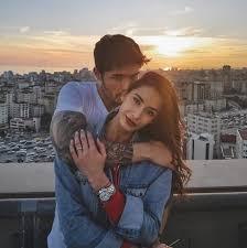 Barış Murat Yağcı ile Alman sevgilisi Brenda Pate'dan romantik poz ...