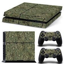 Miếng Dán Bảo Vệ Tay Cầm Chơi Game Ps4 Playstation 4 Họa Tiết Rằn Ri, Giá  tháng 2/2021