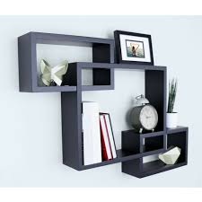 wall shelves 3 sets of intersecting