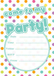 Polka Dot Invitations Free Printable Polka Dot Party Invitations Template