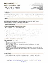 Doctor S Office Organizational Chart Medical Assistant Internship Resume Samples Qwikresume