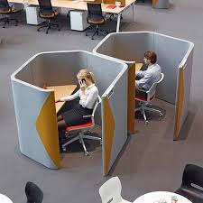 office pod furniture. Grey And Yellow Office Pod Furniture