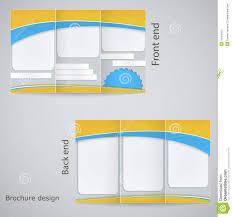 brochure three page brochure template templates three page brochure template medium size