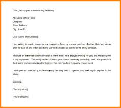 2 Week Resignation Letter Adorable 48 Two Weeks Notice Resignation Letter Shawn Weatherly