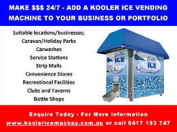 Kooler Ice Vending Machine Price Extraordinary RetailKooler Ice Vending MachineAustralian Business For Sale