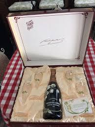 perrier jouet belle epoque 1988 chagne gift set 4 gles bottle rare find in loxahatchee fl offerup