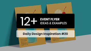 12 Event Flyer Design Examples Ideas Daily Design Inspiration