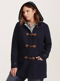 torrid doctor coat who blue toggle peacoat jacket womens plus size 4x or 5x