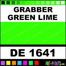 Grabber Green Lime Engine Enamel Paints De 1641 Grabber