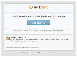 Create Your Invitation Receiving Email Invitations And Creating A Password For Workfront