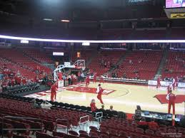 Uw Kohl Center Seating Chart Kohl Center Section 108 Rateyourseats Com