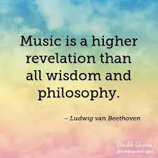 Revelation Quotes Custom Music Is A Higher Revelation Than All Wisdom And Philosophy