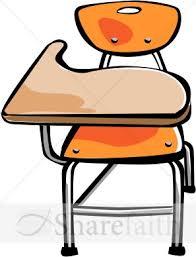 school desk and chair clipart.  Desk In School Desk And Chair Clipart R