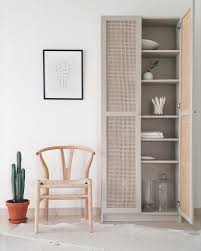 This Billy Celebrates With One Of A Kind Cane Doors Ikea Hackers