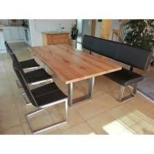 Tisch Metro Mit Bank Kufen Luanna Design Möbel Tische Esstische