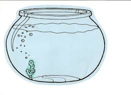 Small Picture fishbowl clipart Empty Fish Bowl Coloring Sheet http