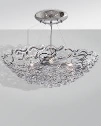 cherry glass pendant ceiling light ex display