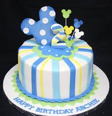 Baby Mickey Mouse Edible Cake Decorations Baby Mickey Mouse 1st Birthday Cake Decoration Complete Deelite