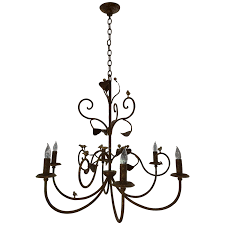 viyet designer furniture lighting heritage lighting french country style iron six light chandelier light fixture