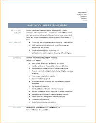 social worker resume example resume template volunteer example