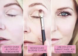 fall makeup routine updates applying eyeshadow burdy eye shadow tutorial