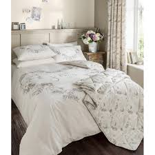 catherine lansfield je taime natural french style duvet set