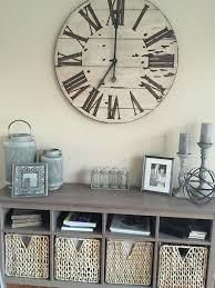36 wall clock oversized wall clock 36 inch wood wall clock
