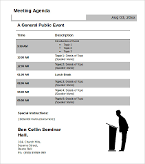 How To Write An Agenda Of A Meeting 51 Meeting Agenda Templates Pdf Doc Free Premium