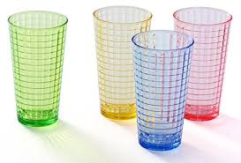 14 oz acrylic drinking glasses set colored plastic tumblers cups glassware highball glasses for kids unbreakable restaurant beverage juice water drinkware
