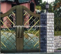 Metal Sliding Garden Fence Gateiron Pipe Gate Grill Designsmain