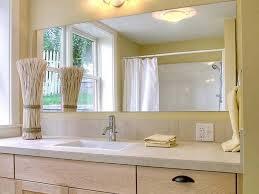 frameless bathroom vanity mirror. Luxury Beveled Vanity Mirror 15 Collection Of Frameless Bathroom Edge Glass  Tri Fold Over Light Tray Frameless Bathroom Vanity Mirror