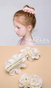 アクセサリー キッズ 髪飾り ヘアクリップ 3個セット 子供 ヘッドドレス 花びら 飾り 子供 発表会 アクセサリー