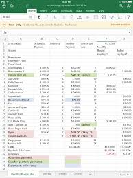 Excel Personal Finance Personal Finance Spreadsheet Template Free Expense Financial
