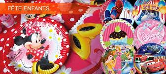 Deco anniversaire enfant de la table au gâteau - Thema Deco