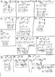 engaging algebra 1 functions worksheets solving logarithmic equations worksheet with w solving logarithmic equations worksheet worksheet