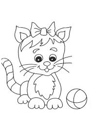 Cute Cat Coloring Pages Cute Cat
