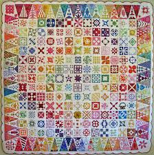 Oh I might just have to do my sampler quilt like this. Ohhh ... & This is a Dear Jane quilt that was quilted by Judi (Green Fairy Quilts) I  think it is just incredible! Adamdwight.com
