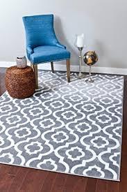 moroccan trellis contemporary gray area rug