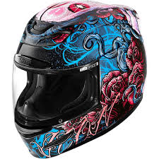 Icon Airmada Sugar Helmet The Sugar Skull Has Never Been