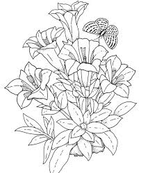 Small Picture picture Free Printable Flower Coloring Pages For Adults 42 For