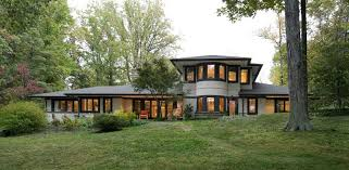 2003 Prairie Style In Annapolis Maryland  OldHousescomFrank Lloyd Wright Style House