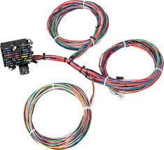 gm truck parts electrical and wiring classic industries gm truck painless 21 circuit universal wire harness column mounted ignition switch